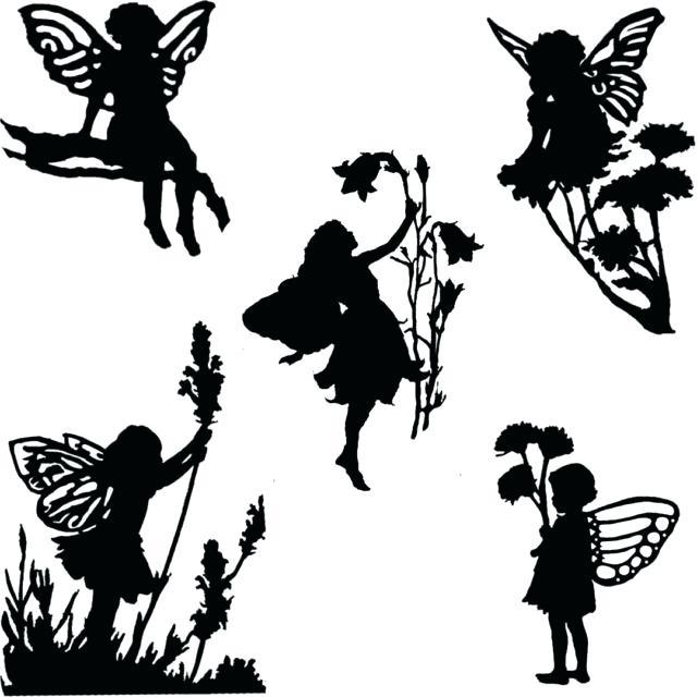 640x640 Silhouette Garden Garden Silhouette Patterns Jobi.club