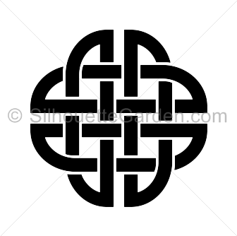336x334 Celtic Knot Silhouette Clip Art. Download Free Versions