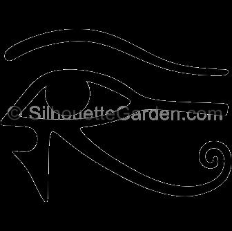 336x334 Eye Horus Silhouette Clip Art. Download Free Versions