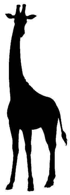 236x651 Giraffe Silhouette Nursery Clipart Panda