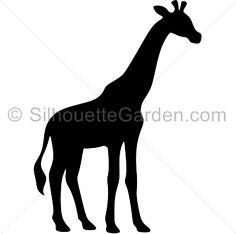 236x234 Free Giraffe Clip Art Image Silhouette Of A Giraffe In Africa