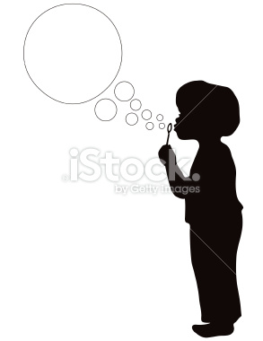 293x380 Boy Blowing Bubbles In Silhouette Blowing Bubbles And Silhouettes