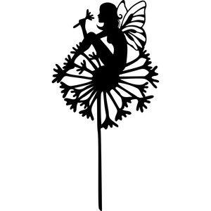 300x300 Dandelion Fairy Silhouette Design, Dandelions And Silhouettes