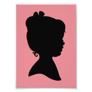 307x307 Little Girl Silhouette Gifts On Zazzle