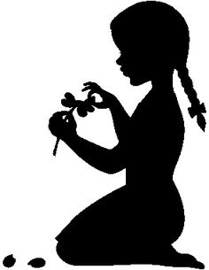 236x305 Girl Blowing Dandelion Silhouette Google Images, Silhouettes