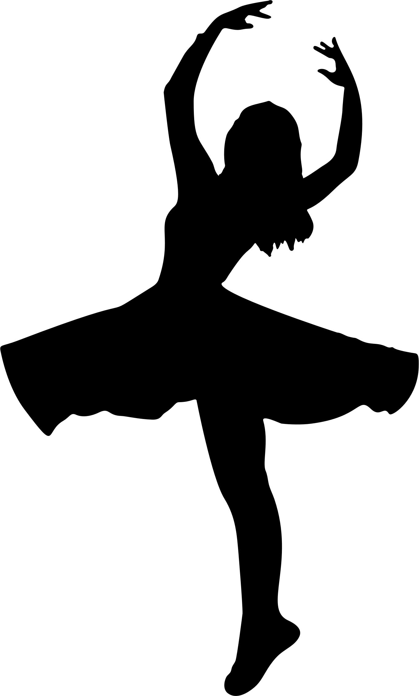 1366x2269 Female Dancer Silhouette Icons Png