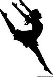 207x300 Dance Clip Art Silhouette Silhouette Female Dancer Cameo
