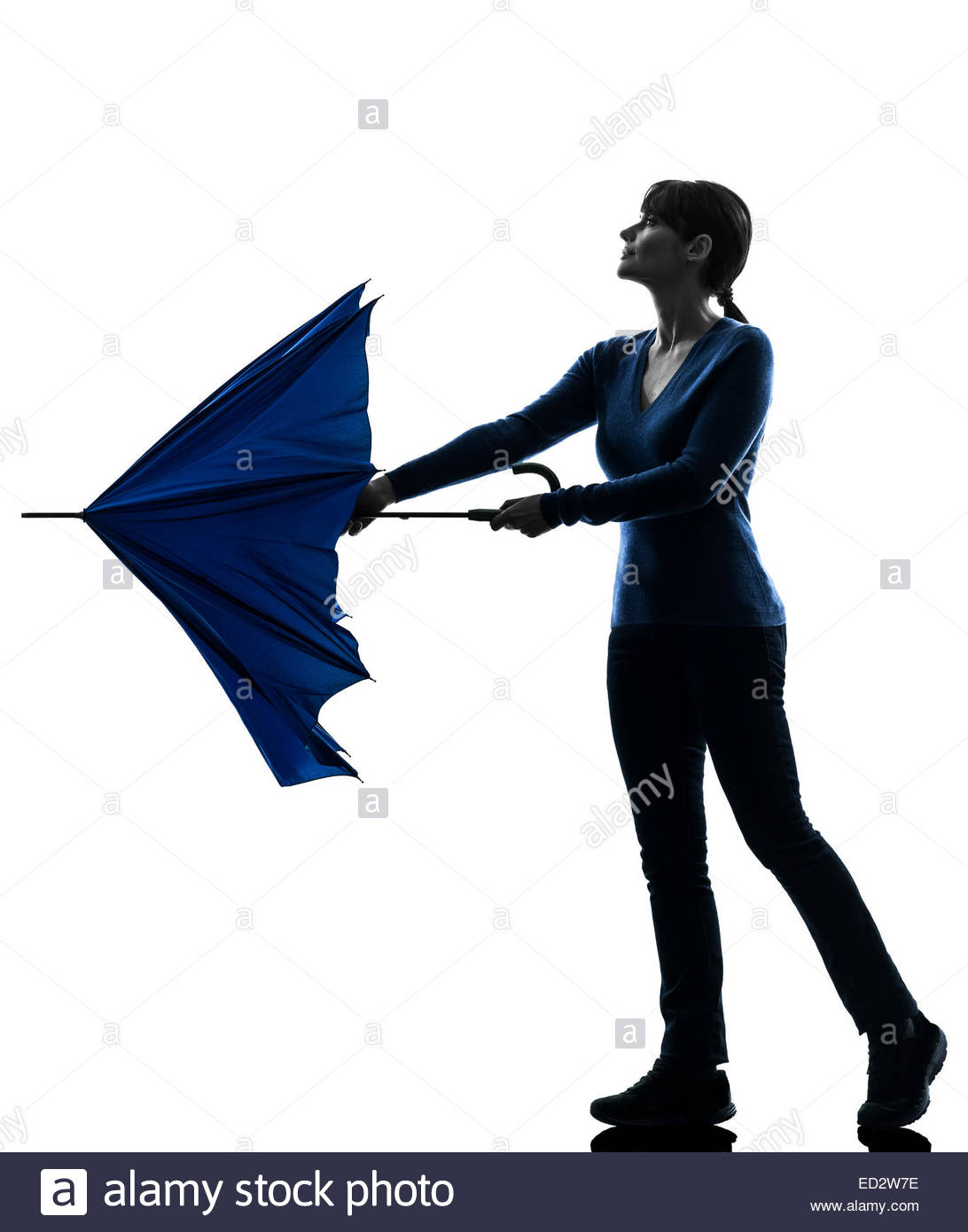 1092x1390 Silhouette Woman Umbrella Walking In Stock Photos Amp Silhouette