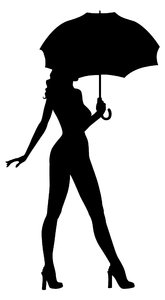 165x300 Umbrella Silhouette Girl Bigking Keywords And Pictures