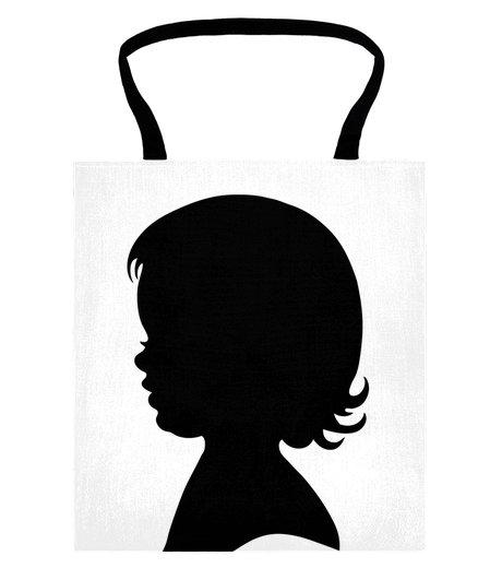 460x520 Little Girl Silhouette Group
