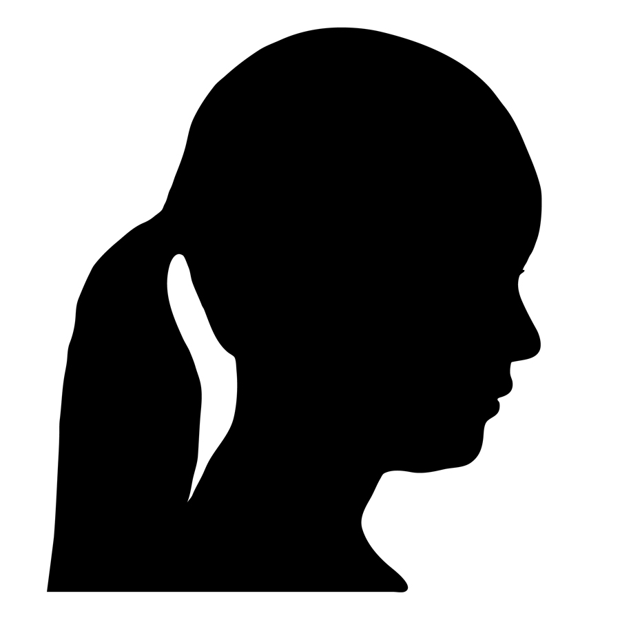 900x900 Png Silhouette Woman Head Transparent Silhouette Woman Head.png