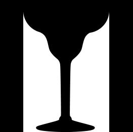 263x262 Free Svg Margarita Glass Silhouette Cricut Stuff