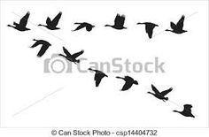 236x155 Bali Stencils Silhouette Canada Goose And Canada
