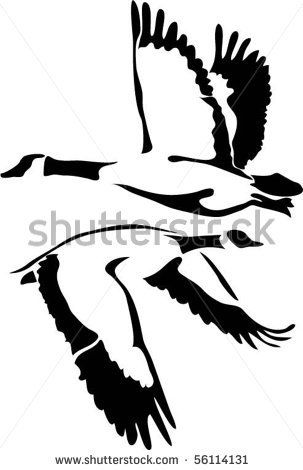 303x470 I Love Geese And What They Represent Spiritually. Tattoo