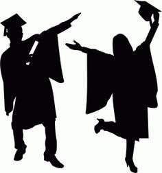 silhouette graduation at getdrawings com free for personal use rh getdrawings com graduate silhouette clip art