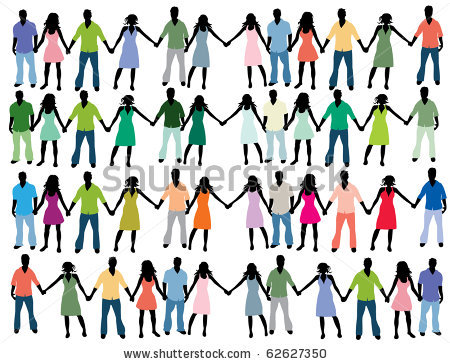 450x364 People Holding Hands Clipart People Holding Hands Clipart