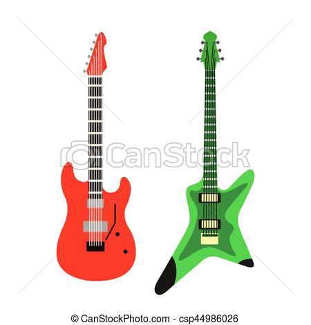 Silhouette Guitar
