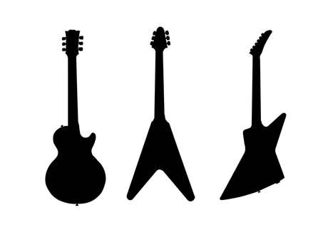 silhouette guitar at getdrawings com free for personal use