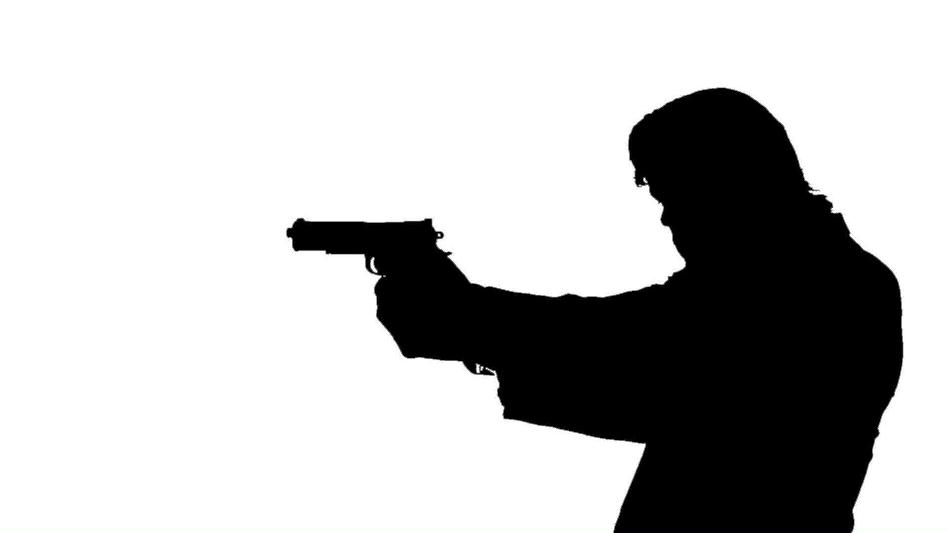 1920x1080 Pistol Clipart Man