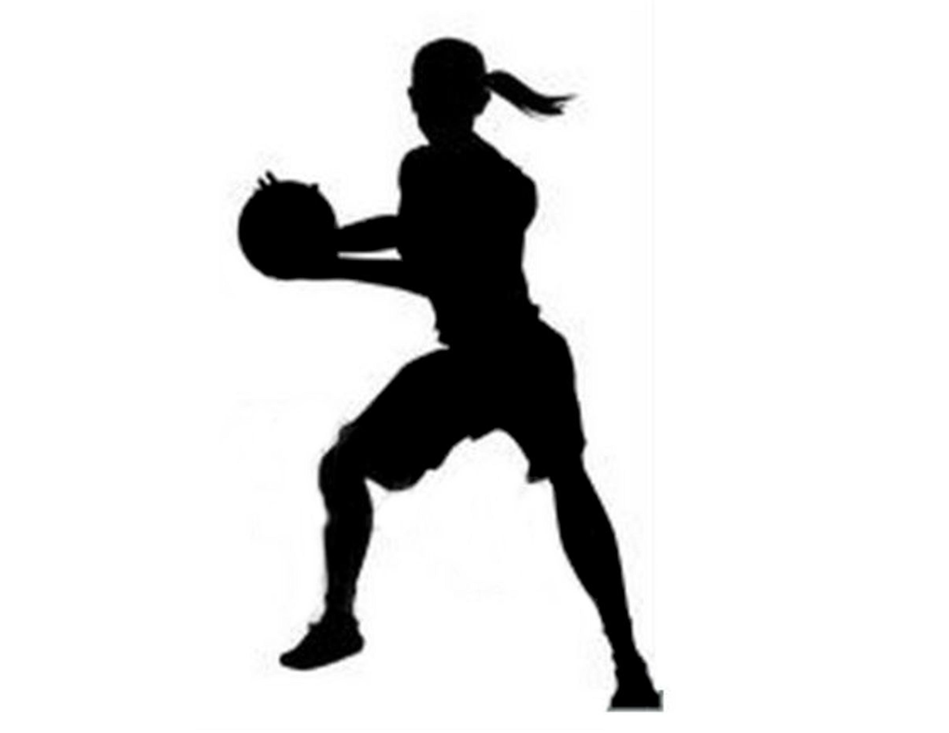 3300x2550 Girl Basketball Player Silhouette