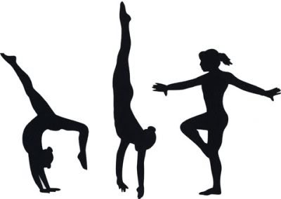 400x284 Gymnastics Clipart Silhouette Vault Cliparts And Others Art