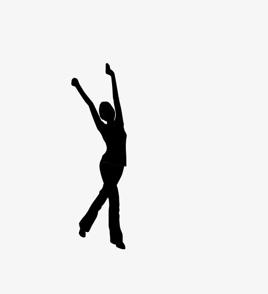 526x578 Gymnastics Silhouette, Gymnastics, Dance, Silhouette Image Png
