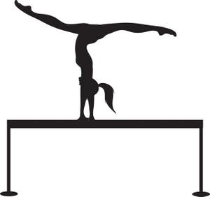 300x282 Free Gymnastics Clipart Image 0071 0901 2001 1210 Computer Clipart