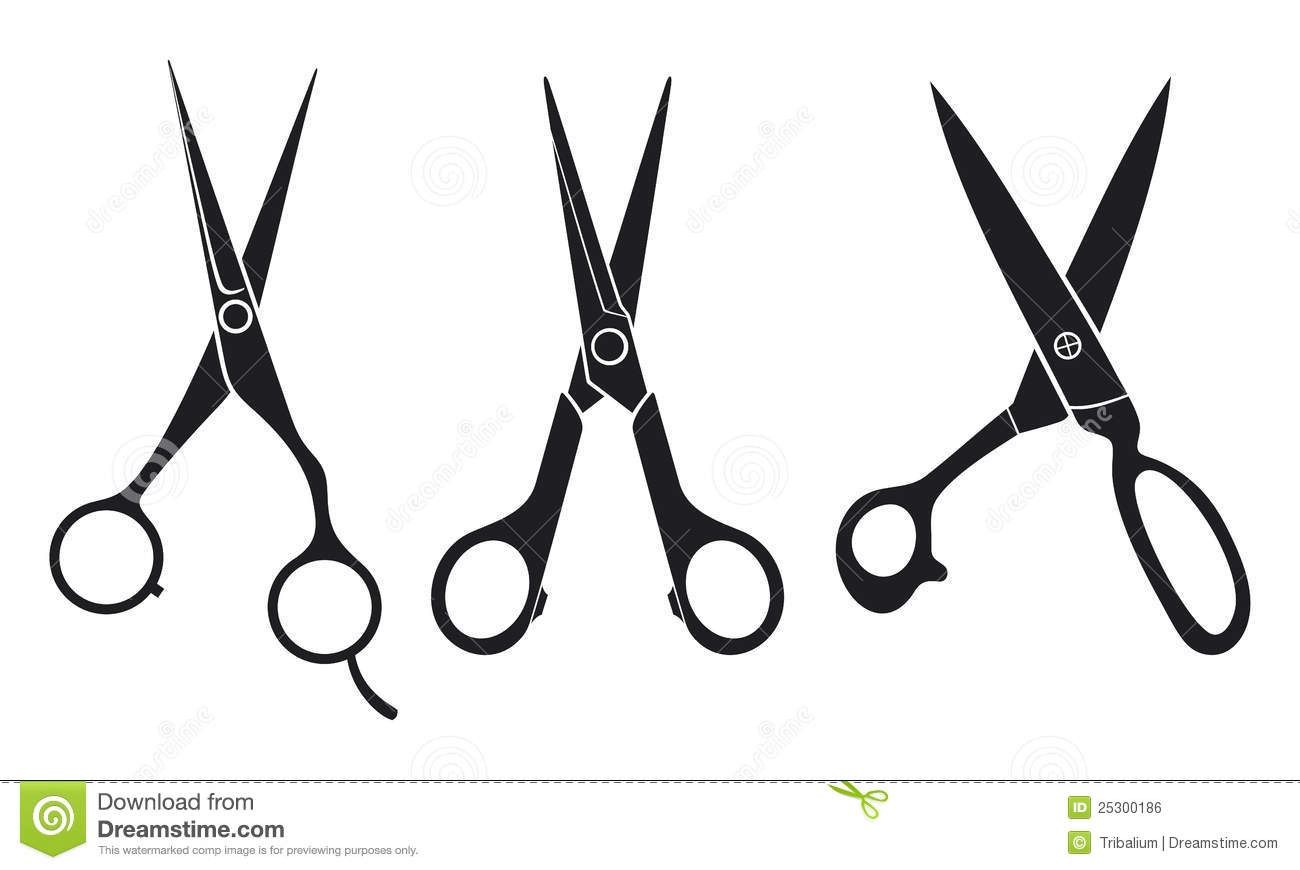 1300x870 Hair Scissors Silhouette Clipart Panda