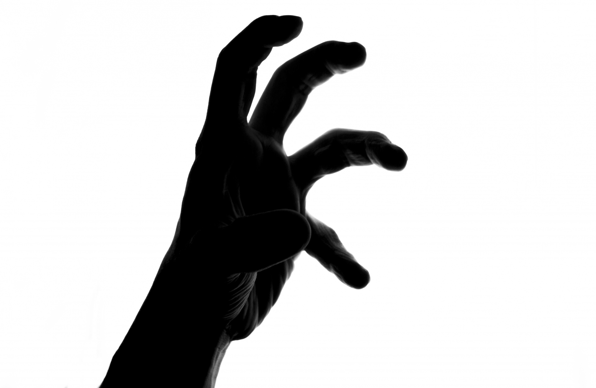 1920x1250 Silhouette Of Scary Hand Free Stock Photo