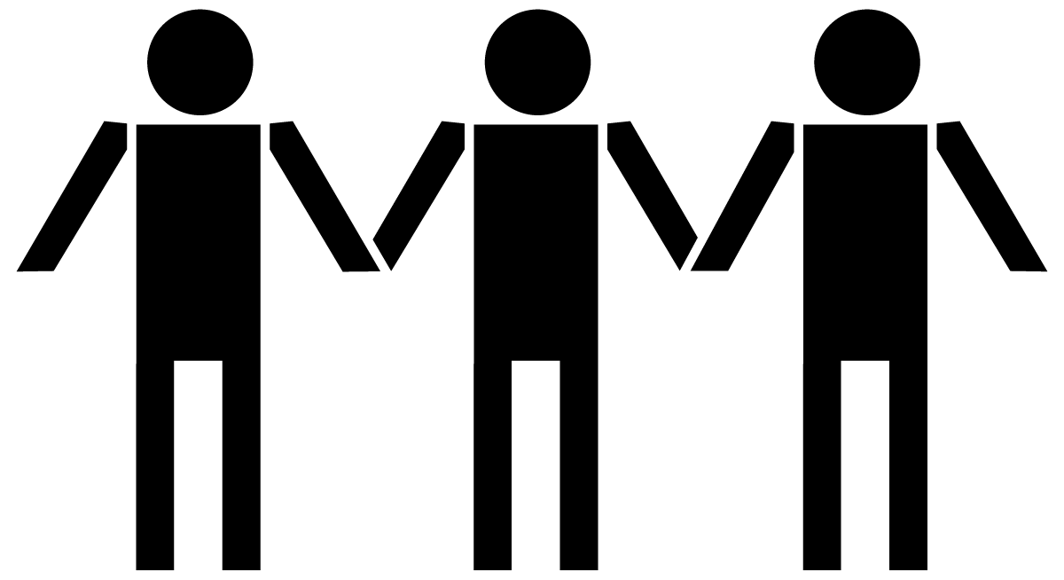 1200x654 People Holding Hands Clipart Silhouette