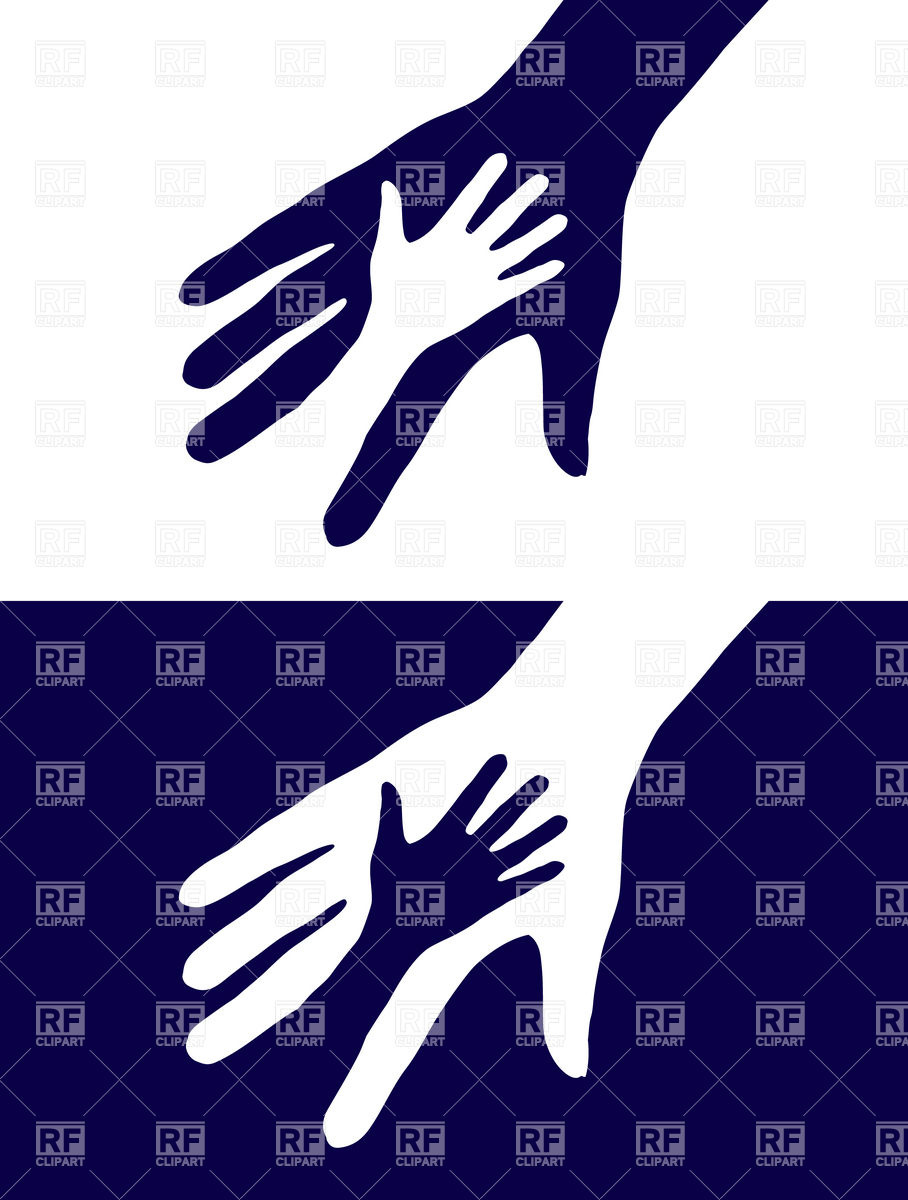 908x1200 Two Hands Silhouette