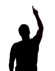 186x240 Hands Up Silhouette Photos, Royalty Free Images, Graphics