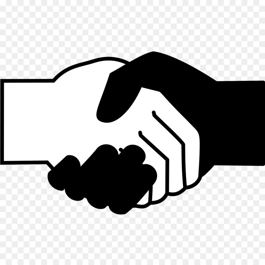 900x900 Computer Icons Handshake Black And White Scalable Vector Graphics