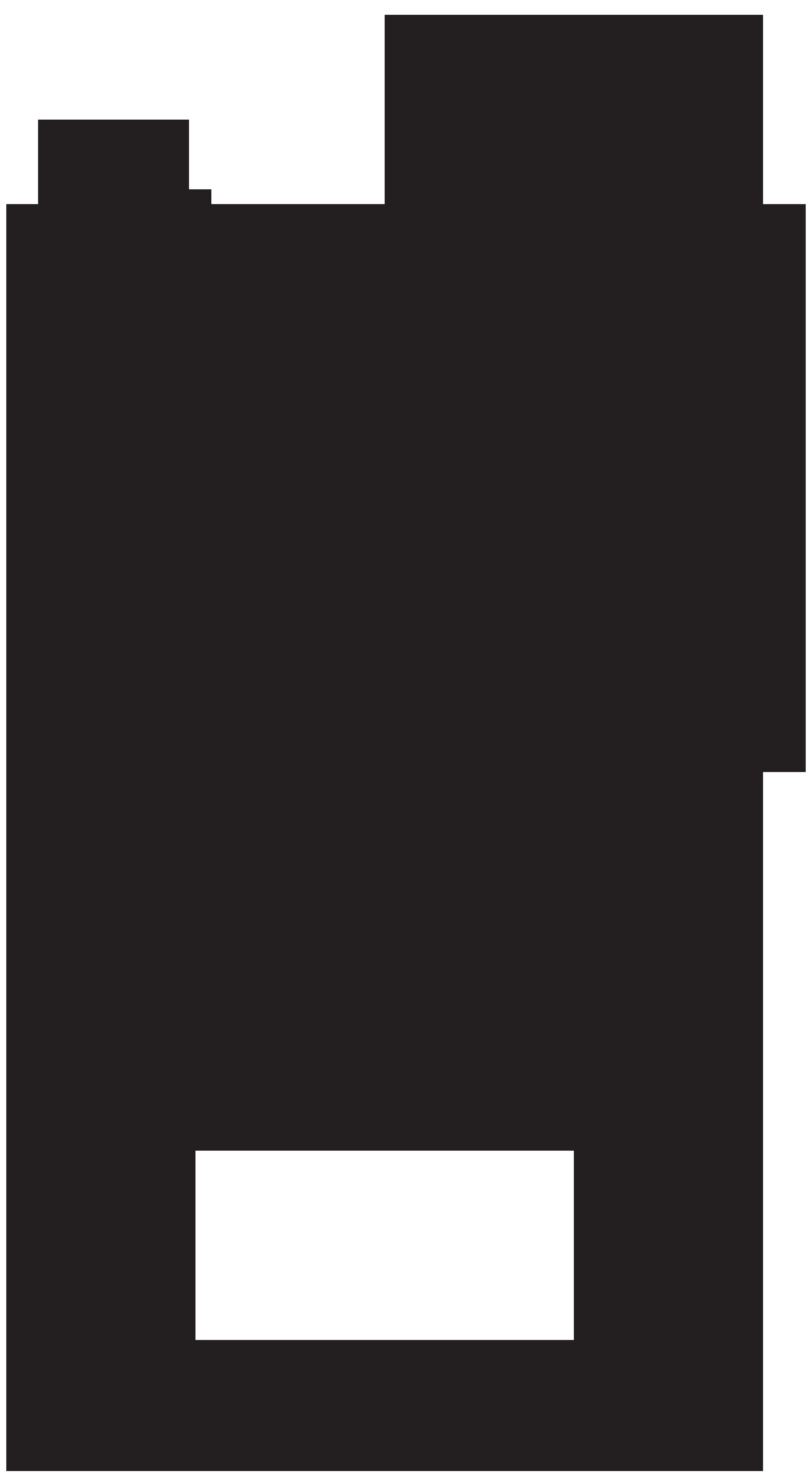 4395x8000 Silhouette Handshake Clip Art