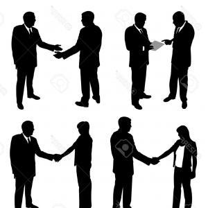 300x300 Business People Handshake Clipart