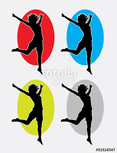 382x500 Happy Woman Silhouette Logo. Good Use For Symbol, Logo, Web Icon
