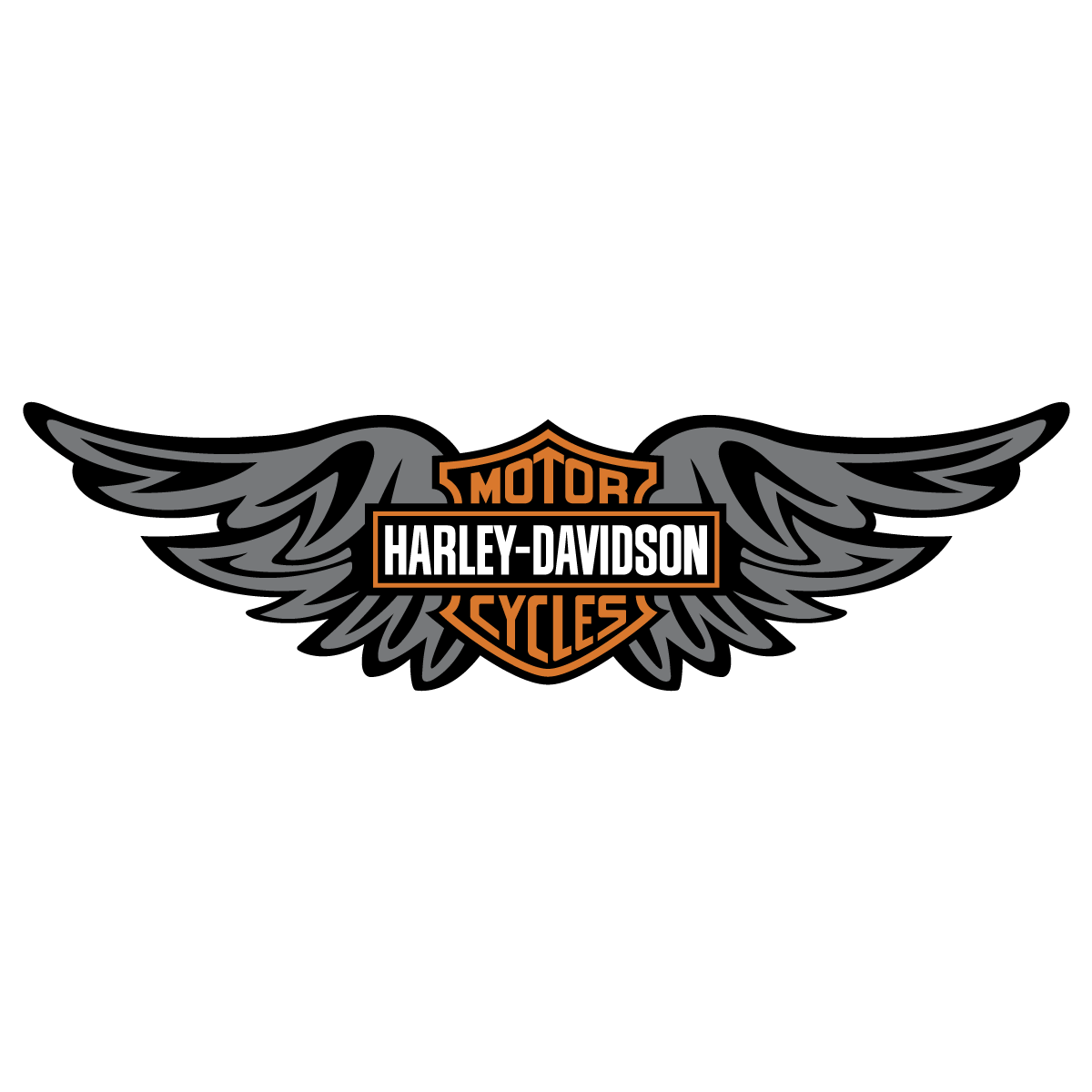 1200x1200 Harley Davidson Wings Logo Vector Decal Emblem Free Vector