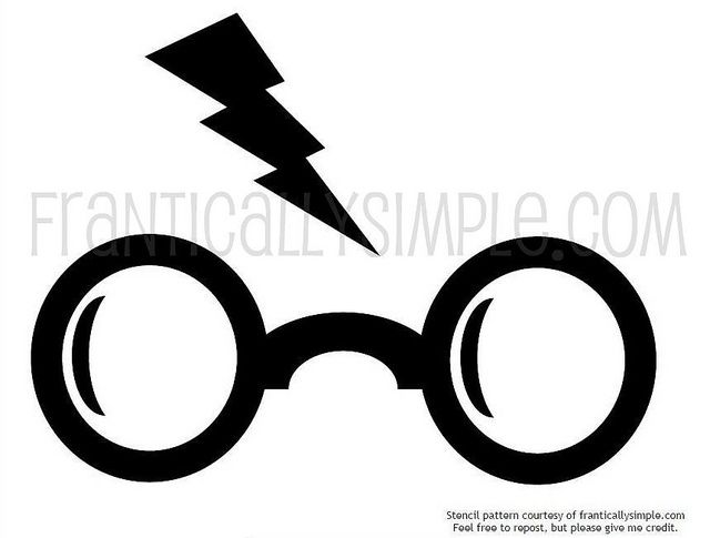 640x485 Harry Potter Stencil Harry Potter Stencils, Stenciling And Harry