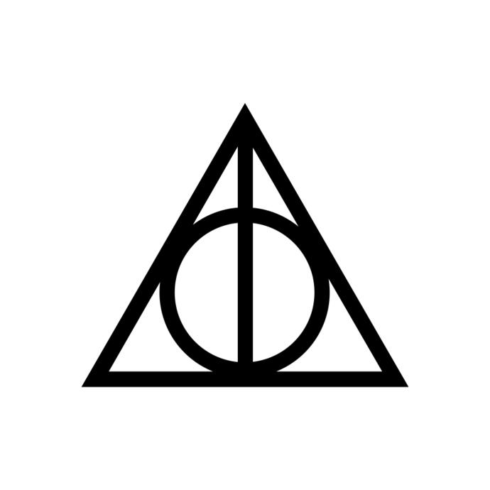 690x690 Harry Potter Deathly Hallows Graphics Design By Vectordesign On Zibbet