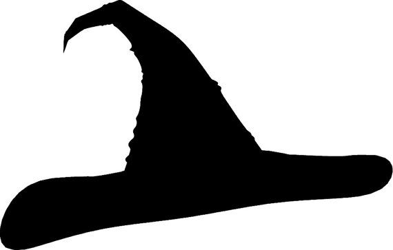 570x363 Harry Potter Sorting Hat Silhouette Vinyl Wall By Remarkablewalls