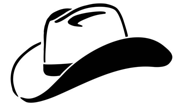 600x361 Cowboy Hat Silhouette Clip Art Use These Free Images For Your