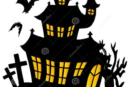 450x300 Top 91 Haunted House Clip Art