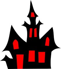 211x239 Haunted House Die Cut Vinyl Decal Pv1299 Haunted Houses