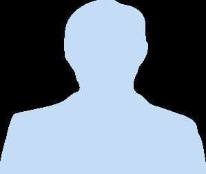 299x252 Human Head Silhouette Avatar Clip Art