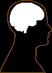 216x300 Silhouette Brain Clip Art