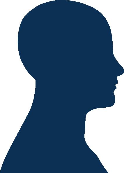 426x593 Blue Head Clip Art