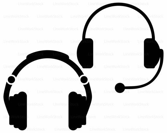 570x456 Headphones Svgheadphones Clipartheadphones Svgheadphones