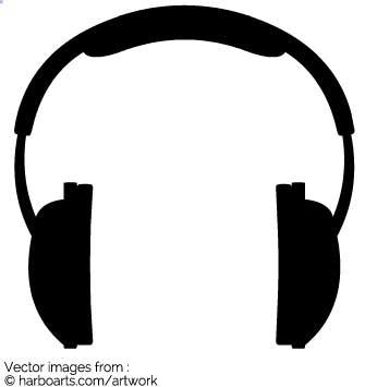 335x355 Download Headphones Silhouette