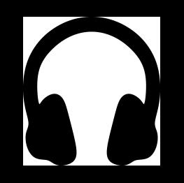 263x262 Free Svg Headphones Silhouette Cricut Silhouettes