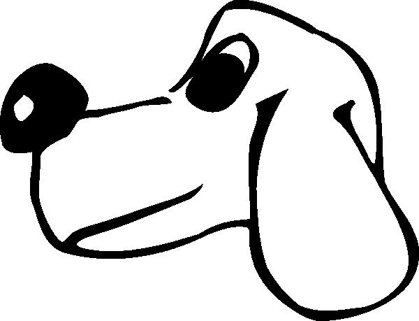 600x459 Clipart Cartoon Head Silhouette